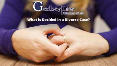What is Decided in a Divorce Case?