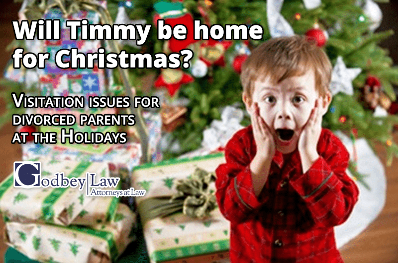 Holidays for Divorced Parents: Will Timmy be Home for Christmas?
