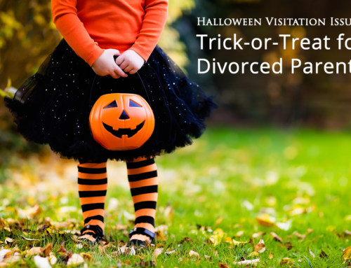 Halloween Visitation Issues: Trick-or-Treat for Parents