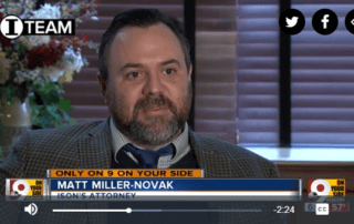 Matt Miller-Novak WCPO Channel 9 Cincinnati News - Godbey Law LLC