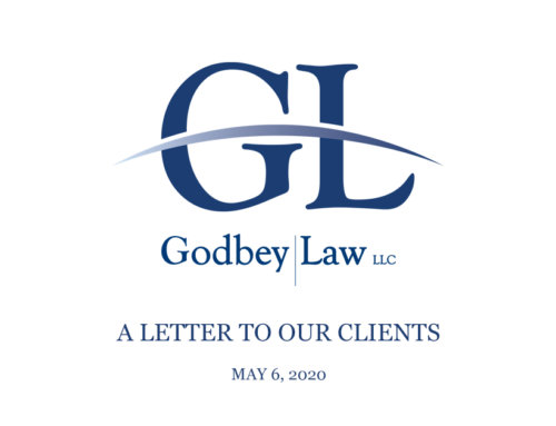A Letter to our Clients from Mark Godbey